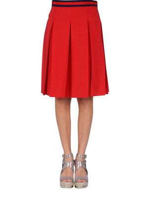 Gucci: Knee length skirts & Midi online - Silk crepe de chine skirt