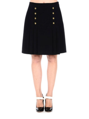 Gucci: Knee length skirts & Midi online - Tiger details front pleated skirt