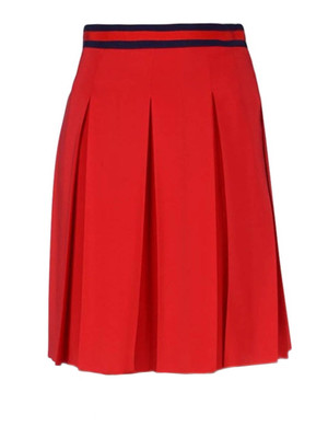 Gucci: Knee length skirts & Midi - Silk crepe de chine skirt