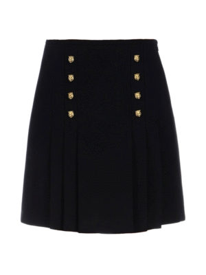 Gucci: Knee length skirts & Midi - Tiger details front pleated skirt