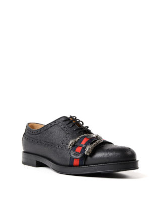 Gucci: lace-ups shoes online - Sylvie Web Derby brogue shoes