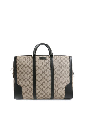 Gucci: laptop bags & briefcases - GG supreme briefcase