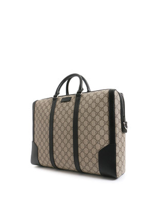 Gucci: laptop bags & briefcases online - GG supreme briefcase
