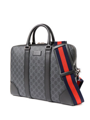 Gucci: laptop bags & briefcases online - Signature Sylvie Web briefcase