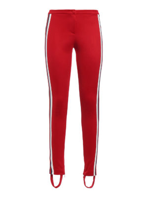 Gucci: leggings - Cotton blend leggings with stirrup