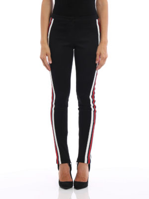 Gucci: leggings online - Cotton blend leggings with stirrup