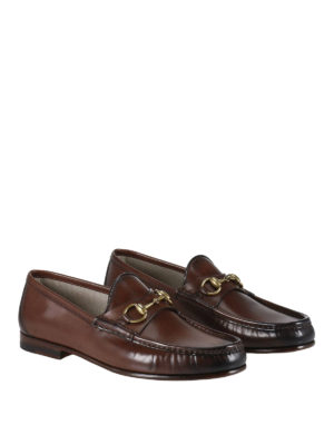 Gucci: Loafers & Slippers online - 1953 horsebit leather loafers