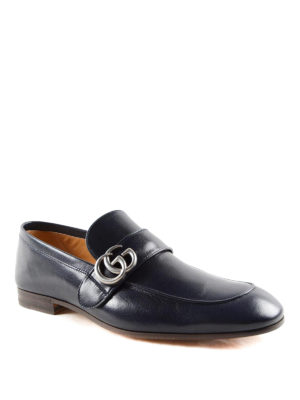 Gucci: Loafers & Slippers online - Double G leather loafers