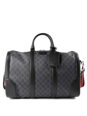 Gucci: Luggage & Travel bags - GG Supreme carry-on duffle bag