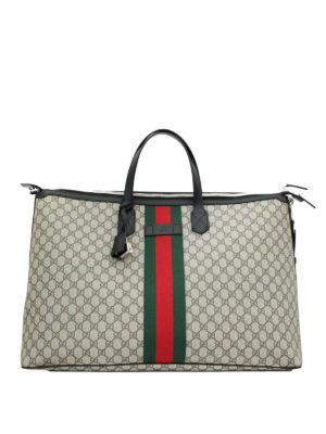 Gucci: Luggage & Travel bags - Web detail GG Supreme canvas bag