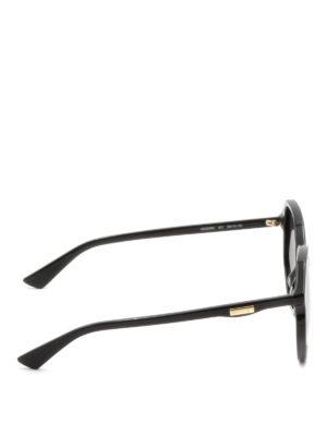 GUCCI: occhiali da sole online - Occhiali da sole geometrici neri