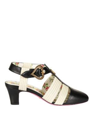 Gucci: sandals - Leather vintage sandals