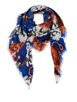 Gucci: scarves - Bengal print foulard
