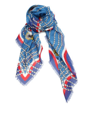 Gucci: scarves - Octopus print foulard
