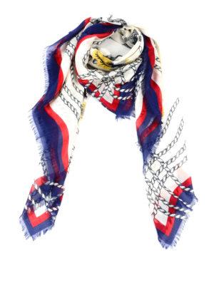 Gucci: scarves - Octopus print foulard