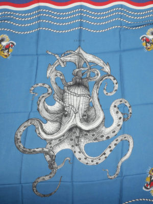 Gucci: scarves online - Octopus print foulard