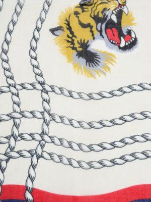 Gucci: scarves online - Octopus print foulard