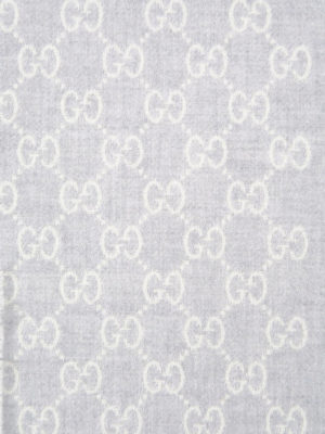 Gucci: scarves online - Wool GG signature scarf
