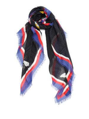 Gucci: scarves - Tiger print foulard