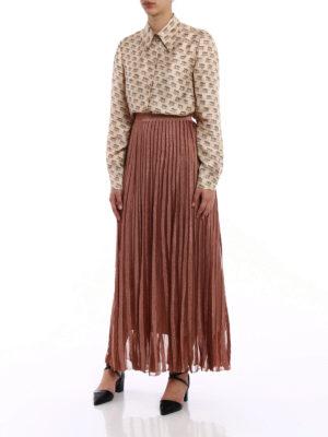 Gucci: shirts online - Maison de l'Amour silk shirt