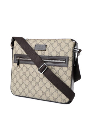 Gucci: shoulder bags online - GG Supreme canvas messenger bag