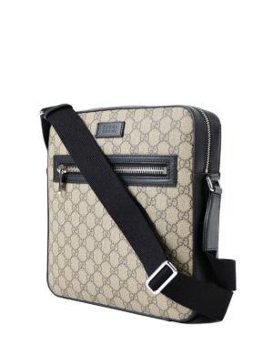 Gucci: shoulder bags online - GG Supreme canvas messenger bag