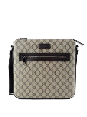 Gucci: shoulder bags - Original GG canvas messenger