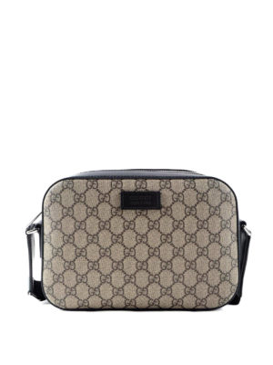 Gucci: shoulder bags - Original GG canvas shoulder bag