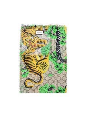 Gucci: Stoles & Shawls - Gucci Bengal shawl