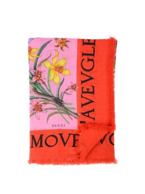 Gucci: Stoles & Shawls - L'Aveugle Par Amour shawl