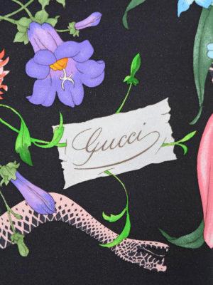 Gucci: Stoles & Shawls online - Flora Snake Foulard