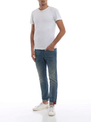 Gucci: straight leg jeans online - Web detail relaxed fit jeans