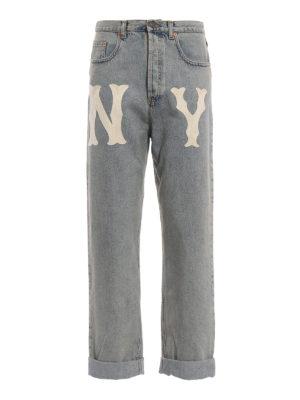 GUCCI: jeans dritti