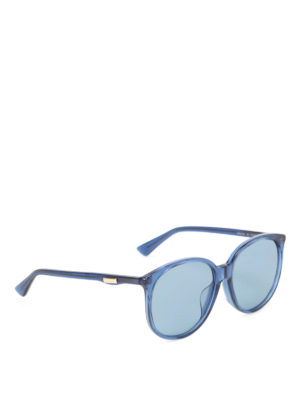 Gucci: sunglasses - Blue sunglasses