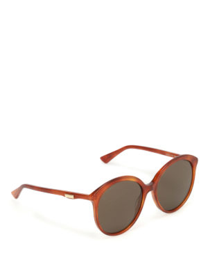 Gucci: sunglasses - Brown lenses shaded sunglasses