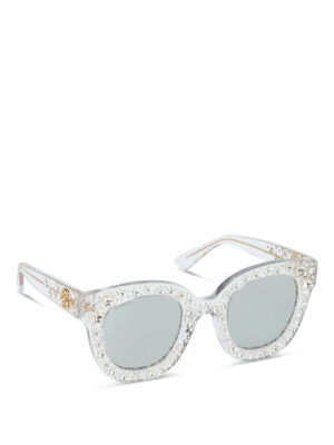 Gucci: sunglasses - Crystal stars sunglasses