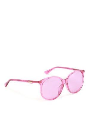 Gucci: sunglasses - Fuchsia sunglasses
