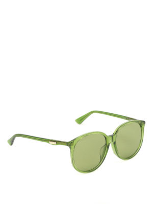 Gucci: sunglasses - Green sunglasses