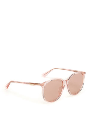 Gucci: sunglasses - Light orange sunglasses
