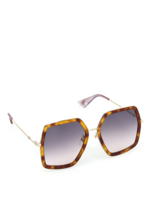 Gucci: sunglasses - Lilac lenses sunglasses