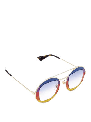 Gucci: sunglasses - Multicolour lenses sunglasses