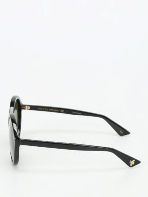 Gucci: sunglasses online - Acetate rounded sunglasses
