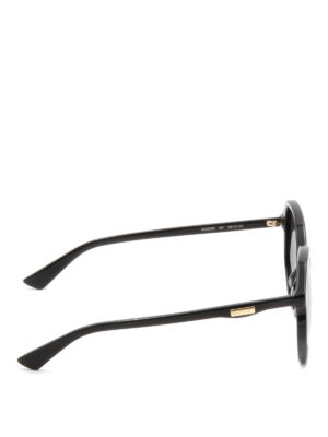 Gucci: sunglasses online - Black geometric sunglasses