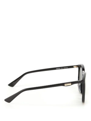 Gucci: sunglasses online - Black sunglasses with grey lenses