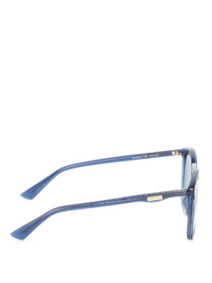 Gucci: sunglasses online - Blue sunglasses