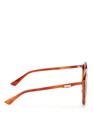 Gucci: sunglasses online - Brown lenses shaded sunglasses