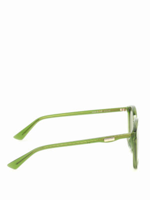 Gucci: sunglasses online - Green sunglasses
