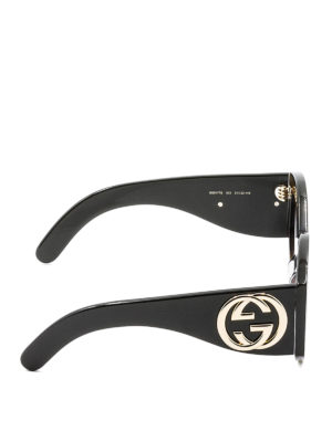 Gucci: sunglasses online - Interlocking G round sunglasses