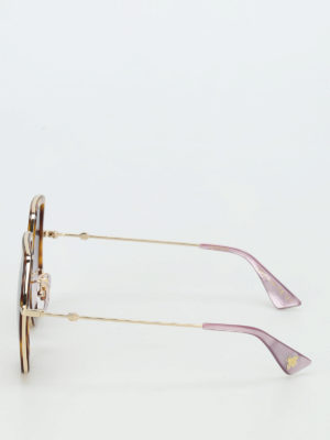 Gucci: sunglasses online - Lilac lenses sunglasses