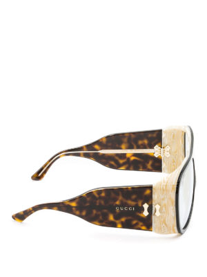 Gucci: sunglasses online - Maxi mask sunglasses